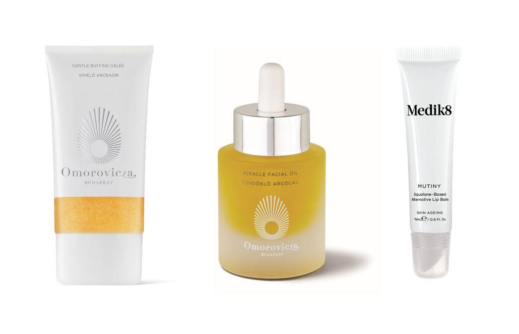 Foto de Productos de Omorovicza y Medik8 con formulación rica en